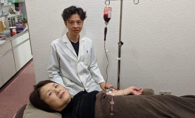 65歳の血液クレンジング画像
